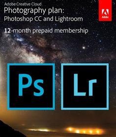 Amazon.com: Adobe Creative Cloud Photography plan (Photoshop CC + Lightroom)…