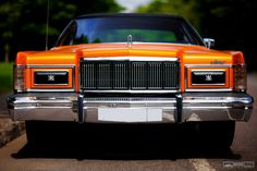 Re-Styling Mercury Grand Marquis in Glitter Orange Wrap