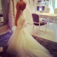 Shop Pickeddresses for affordable wedding dresses, bridesmaid dresses, prom dresses and more occasion gowns online. Lace Wedding Dress, 2015 Wedding Dresses, Tulle Wedding, Wedding Attire, Wedding Gowns, Bridesmaid Dresses, Mermaid Wedding, Wedding Dresses With Bling, Dresses 2014