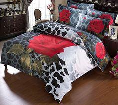 Voll Genial Set Bett Set Schlafzimmer Satin Bedding Duvet