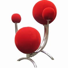 Big Balls Chair!!... Okay, not exactly my style, but fun for sure!