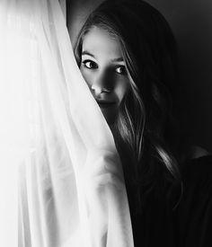 curtain photography teen girl