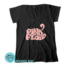 e6d1dbf22 Remera Pink Floyd con la estampa del logo psicodélico. De nuestro catálogo  de remeras de
