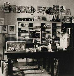 Eisenstaedt's First Office-Darkroom (© Alfred Eisenstaedt) 1929