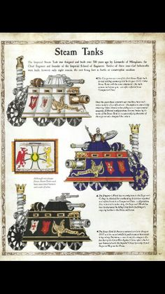 Steam Tanks of the Empire
