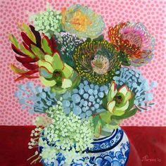 Blooming Brushwork by Jenny Parsons #guestpinner @HappyMakersBlog @homeandgardenNL