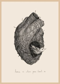 """""""Home is where your heart is"""" - by Liliana Rodrigues Hearts And Bones, Heart Real, Jagua Henna, Ghost In The Machine, Dream Pictures, Heart Illustration, Anatomical Heart, Heart Images, Human Heart"""