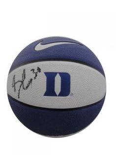 Seth Curry Signed Mini Basketball #SportsMemorabilia #DukeBlueDevils