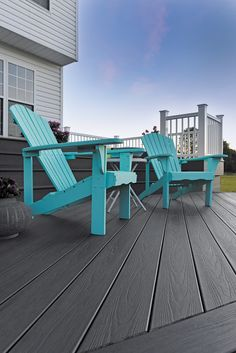 EasyClean Tropical Storm Grey decking from per square metre. Capped with a protective sleeve to keep out moisture - spills can be wiped away with ease. Contemporary Garden Design, Composite Decking, Outdoor Furniture Sets, Outdoor Decor, Perfect Fit, Tropical, Grey, Home, Gray