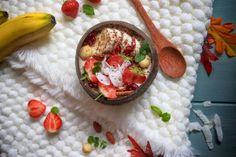 Banánová kaše | Veganská liška Hummus, Grains, Ethnic Recipes, Food, Essen, Meals, Seeds, Yemek, Eten