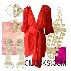 """""""Date Night: Valentines Day"""" by cilooks on Polyvore"""