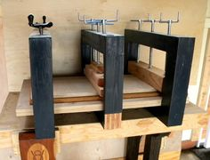 Modular Veneer Press - Woodworking creation by shipwright