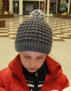 Sportovní kostičková čepice – NÁVODY NA HÁČKOVÁNÍ Knitted Hats, Winter Hats, Knitting, Fashion, Moda, Tricot, Fashion Styles, Breien, Stricken