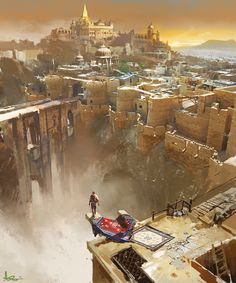 ArtStation - Uncharted, ling xiang