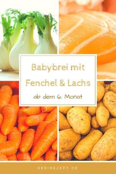 Fenchelbrei mit Lachs Babybrei Rezepte Baby porridge with fennel, salmon, carrots and potatoes is a Clean Eating Snacks, Healthy Snacks, Healthy Recipes, Potato Recipes, Baby Food Recipes, Baby Broccoli Recipe, Brei Baby, Porridge Recipes, Carrots And Potatoes