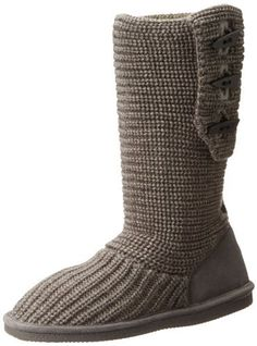 BEARPAW Women's Knit Tall Boot, http://www.amazon.com/dp/B001P4OJ3O/ref=cm_sw_r_pi_awdm_CbJxub16BJ7ZD