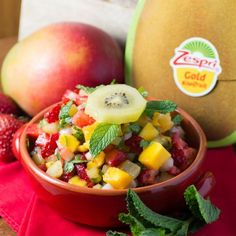 This Kiwi Mango Strawberry salsa is the perfect snack for summer.