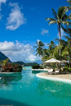The Pearl Beach Resort Bora Bora - What an awesome place!  I would love to return some day.