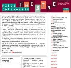 Pièces de théâtre : (dossier pédagogiques, ressources, exercices, outils numériques…) |