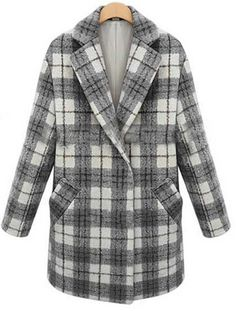 Shop Black Lapel Long Sleeve Plaid Woolen Coat online. Sheinside offers Black Lapel Long Sleeve Plaid Woolen Coat & more to fit your fashionable needs. Free Shipping Worldwide!