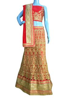 #BuyNow Red Heavy Zari Diamond Work Wedding Semi-Stitch Lehenga Choli With Blouse only at Lalgulal.com. #Price :- 6,822/- inr. To #Order :- http://goo.gl/QUCEHf To Order you Call or #Whatsapp us on +91-95121-50402 COD & Free Shipping Available only in India.