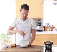 Training to cook like him, Byron Talbott