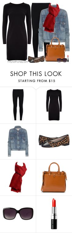"""""""Simple Pleasures"""" by fiftynotfrumpy ❤ liked on Polyvore featuring Y-3, Jaeger, Polo Ralph Lauren, Sam Edelman, Lodis, Merona and Bobbi Brown Cosmetics"""