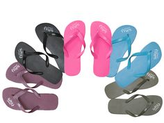 Wedding Favors: flip flops are designed by a Beverly Hills podiatrist and they're made from natural rubber, which has more flexibility and cushion than the artificial stuff. Plus with every purchase Planet Flops plants a tree