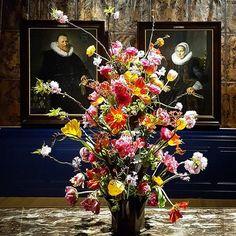 #🖐#⚘ #3double#dutch #franshals#paintings #holland#flora #janvandervaart#ceramics   #multicolor #flowerpower #goldenage #synergy #art #naturealwayswins #museuminbloei #expo #franshalsmuseum #haarlem #holland #netherlands #nederland