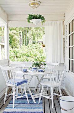 Sisustavan mökkitalkkarin paratiisi | Koti ja keittiö Beautiful rug!