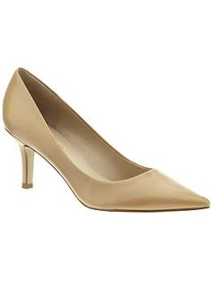 @Amy Held Nine West shoe, the Austin 2 1/2 inch heel. $69 at Piperlime.com.