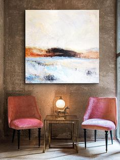 Extra Large Wall Art Canvas Abstract Office Painting Blue Painting Sunset Painting Abstract Painting On Canvas Original Living Room Wall Art Large Canvas Wall Art, Extra Large Wall Art, Abstract Wall Art, Large Art, Blue Abstract, Painting Abstract, Paint Prices, Blue Painting, Living Room Art