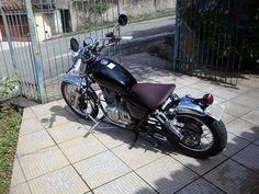 A motoca abaixo é do intrudeiro Bruno Maia Silva.    Sua motoca conta com omandos avançados, novo escape, alongamento do quadro, banco indiv...