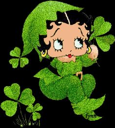 Have a Marvelous and Fabulous Blessed Happy St. Patrick's Day sweet Sister's ❎ Sweetness ❤ Boop Boop D Boop❤❤❤ Saint Patricks Day Art, Happy St Patricks Day, St Patricks Day Pictures, Boop Gif, Good Morning Beautiful Images, Animated Cartoon Characters, Hello March, Betty Boop Cartoon, Betty Boop Pictures