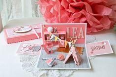 Für die süße Lea eine süße Explosionsbox :)                              …