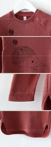 Hedgehog Sweatshirt||Color Me WHIMSY.
