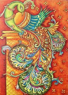 Image result for lotus paintings krishna