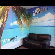 Where's your beach? Our latest project in our lobby. Completely customizable and removable wall murals applied directly to walls as home and business decor. Contact us for your own today! fotowallsusa@gmail.com #mural #murals #wallmural #wallmurals #walldecor #homedecor #homedesign #instadecor #decoration #decorating #interiordesign #design #interiordecor #fotowallsusa #homedecoration #interiordecor #interiordesigner #interiordecoration #interiordecorating #homedecorating