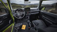2019 Suzuki Jimny is the featured model. The 2019 Suzuki Jimny Interior image is added in car pictures category by the author on Jun Jimny Suzuki, Maruti Jimny, Suzuki Jimny Interior, Jimny 4x4, Home Bild, Volkswagen, Car Magazine, Car Prices, Off Road