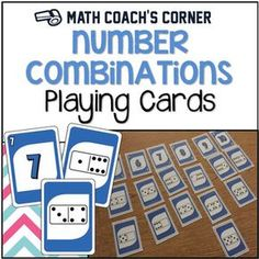 These playing cards are an amazingly flexible resource for developing early numeracy skills! Subitizing, ordering, composing and decomposing, number recognition, and comparing