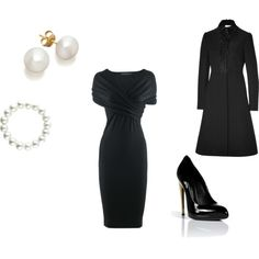 A fashion look from November 2012 featuring Donna Karan dresses, Valentino coats and Giuseppe Zanotti pumps. Browse and shop related looks.