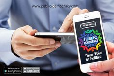 This the new app for smart devices which is changing the way democracy works. A low cost way for politicians and organisations to test new policies and videos and respond to the way voters actually think and feel.