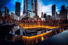 9/11 Memorial by Paul Brake @nyc_ph0t0 | via newyorkcityfeelings.com - The Best Photos and Videos of New York City including the Statue of Liberty Brooklyn Bridge Central Park Empire State Building Chrysler Building and other popular New York places and attractions.