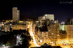 Cape Town Night Life, Cape Town City. I Site, City Life, Cape Town, Marina Bay Sands, San Francisco Skyline, Night Life, Butterflies, Photography, Travel