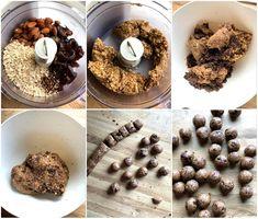 """Nydelige """"cookie dough"""" energikuler - LINDASTUHAUG Cookie Dough, Cereal, Snacks, Cookies, Breakfast, Food, Alternative, Tapas Food, Biscuits"""