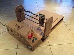 Make your own Arduino-powered laser engraver at home. #Atmel #Arduino #LaserEngraver #Makers