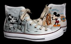 Hey, I found this really awesome Etsy listing at https://www.etsy.com/listing/237576013/mickey-mouse-shoes-custom-hand-painted