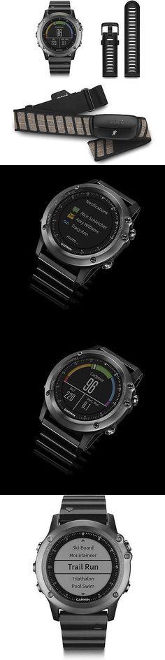 GPS and Running Watches 75230: Garmin Fenix 3 Multisport Training Gps Watch - Sapphire Performance Bundle -> BUY IT NOW ONLY: $372.99 on eBay!