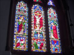 Stained Glass Church Windows | Stained glass window in Stalham church