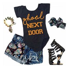 We are loving this outfit inspo with our •GHOUL NEXT DOOR• Leo! Can you believe we are almost sold out of these already?! 😱👻 Get yours before they're sold out! 🔮 • • • • • • #cutekidsclub #igfashion #kidzootd #instagram_kids #trendykiddies #babiesofinstagram #kidzfashion #kidslookbook #kids_stylezz #thechildrenoftheworld #igkiddies #flylittleguy #kidsfashion #toddlerfashion #harrypotter #quidditch #mischief #potterhead #harrypotterforever #hogwarts #ghost #ghoul #ghoulnextdoor #halloween…